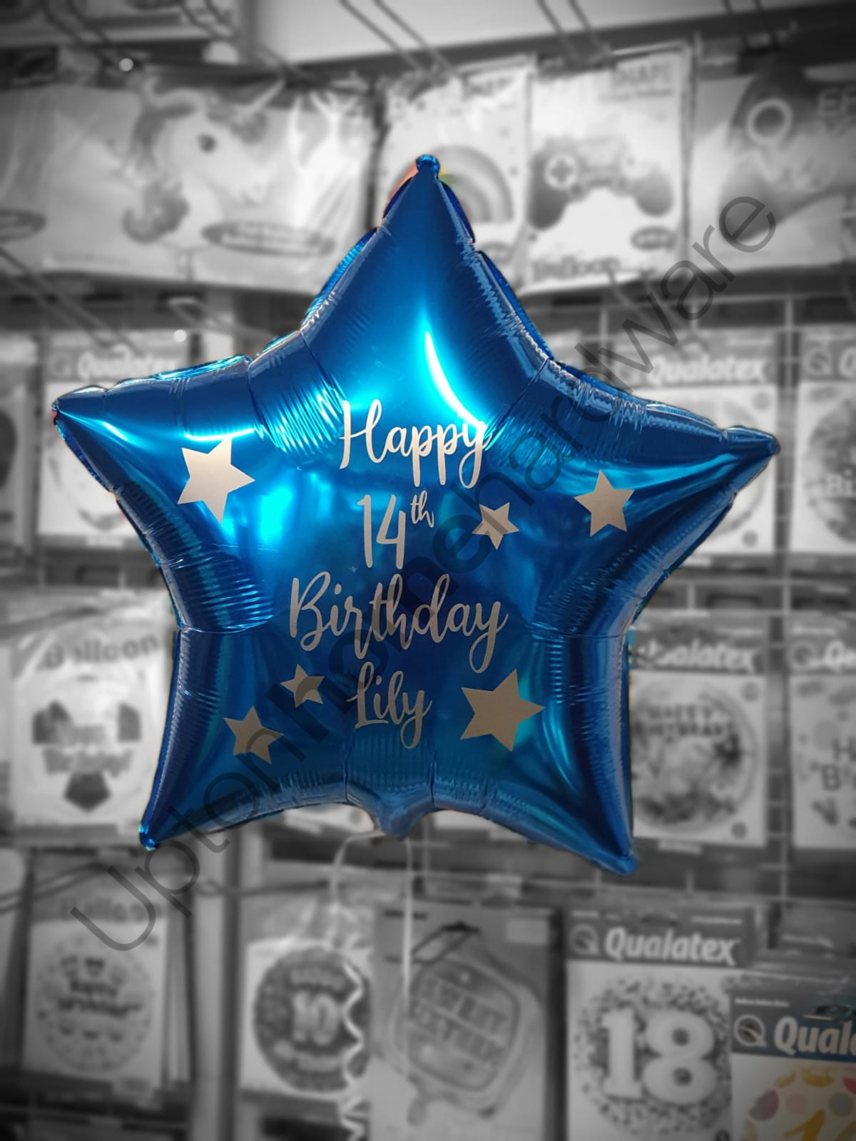 Personalised Blue Star